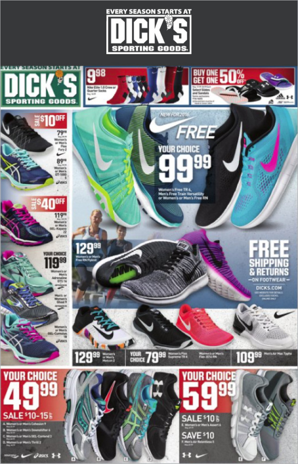 Weekly Specials On Sporting Goods