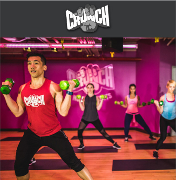 Join Crunch Fitness